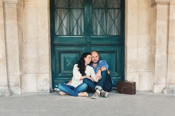 Marika & Federico dans le Marais