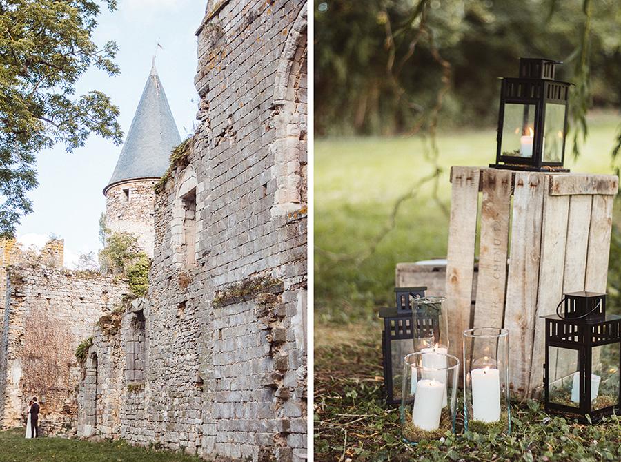 mariage château du vivier