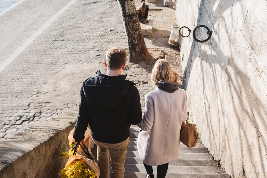 Séance engagement Pont des Arts Paris